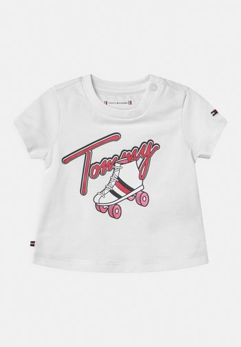 BABY ROLLERSKATING  - T-shirt print - white