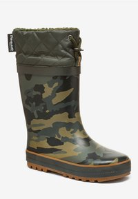 Next - CUFF WELLIES (OLDER BOYS) - Botas de agua - green - 2