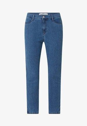 MARY - Slim fit jeans - hellblau meliert