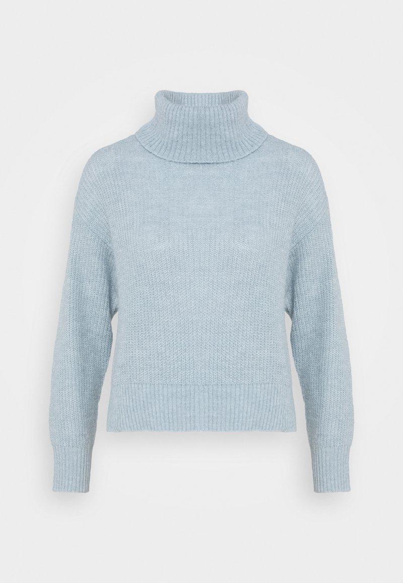 Zign - Roll neck- wool blend - Jumper - light blue