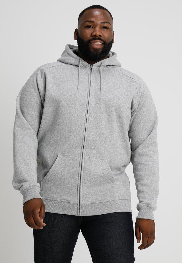 ZIP HOODY - Zip-up hoodie - grey