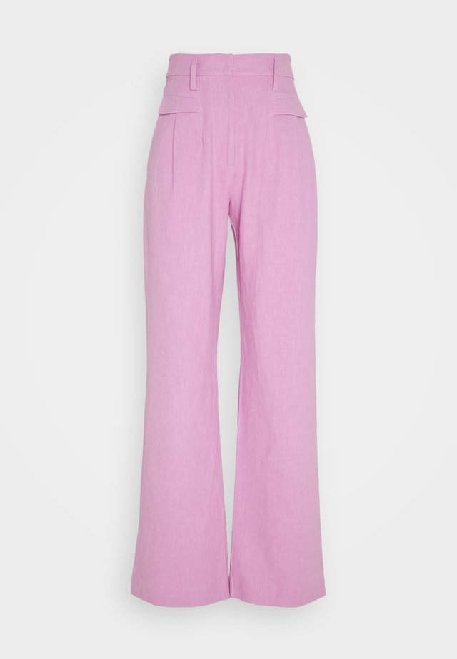 VIVID PANT - Trousers - candy