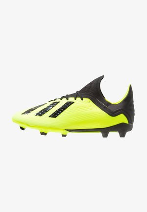 Moulded stud football boots - solar yellow/core black/footwear white