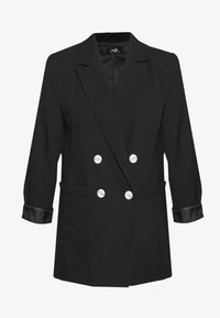 Wallis - PATCH POCKET - Short coat - black - 0