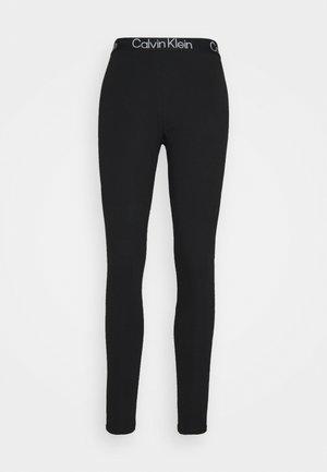 MODERN STRUCTURE LEGGING - Pyjama bottoms - black