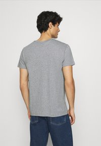 GANT - ARCHIVE SHIELD - T-shirt med print - grey melange - 2