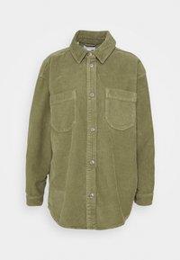 Topshop - Button-down blouse - khaki - 5