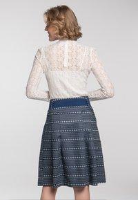 Spieth & Wensky - A-line skirt - dunkelblau - 2