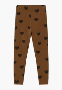 Mini Rodini - HEARTS - Leggings - Trousers - brown - 1