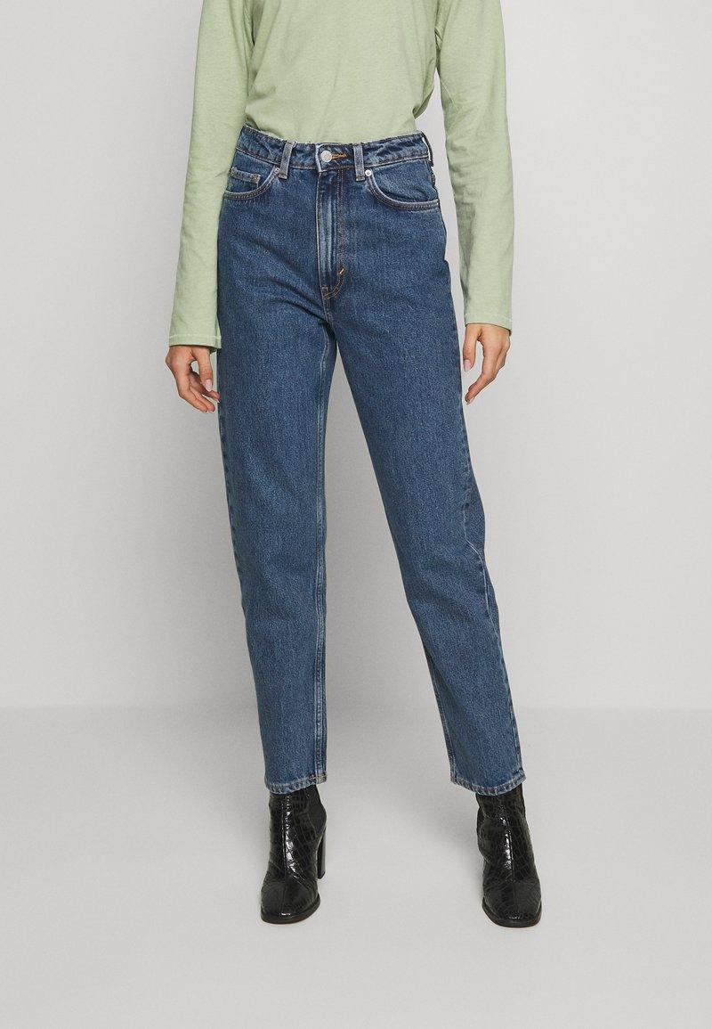 Weekday - LASH STANDARD - Jeans a sigaretta - standard blue