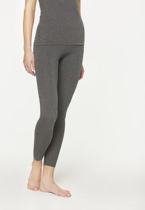 SHIVA - Leggings - Trousers - dark grey melange