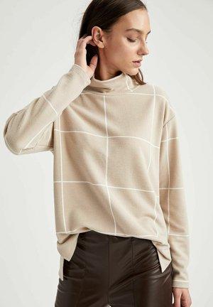 T-shirt à manches longues - beige