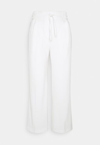 BYDANTA CROP - Kalhoty - off white
