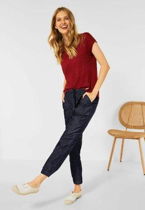 LOOSE FIT  - Trousers - blau