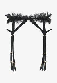 CHANTAL PLACEMENT CAGE SUSPENDER BELT - Strømpeholdere - black