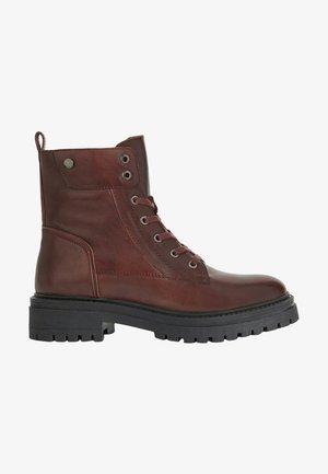 IRIDEA - Lace-up ankle boots - bordeaux