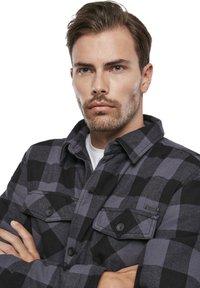 Brandit - Denim jacket - black/grey - 4