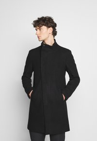Only & Sons - ONSOSCAR STAR COAT  - Classic coat - black - 0