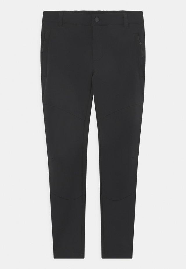 KAHALUU JR UNISEX - Pantalones montañeros largos - black