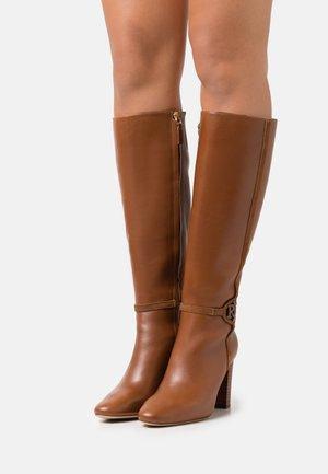 MARION - Boots - deep saddle tan/whiskey