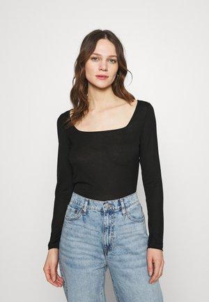 CASPIAN - Long sleeved top - black