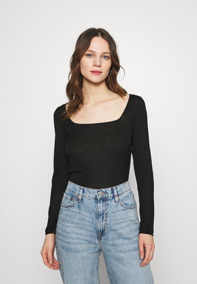 CASPIAN - Camiseta de manga larga - black