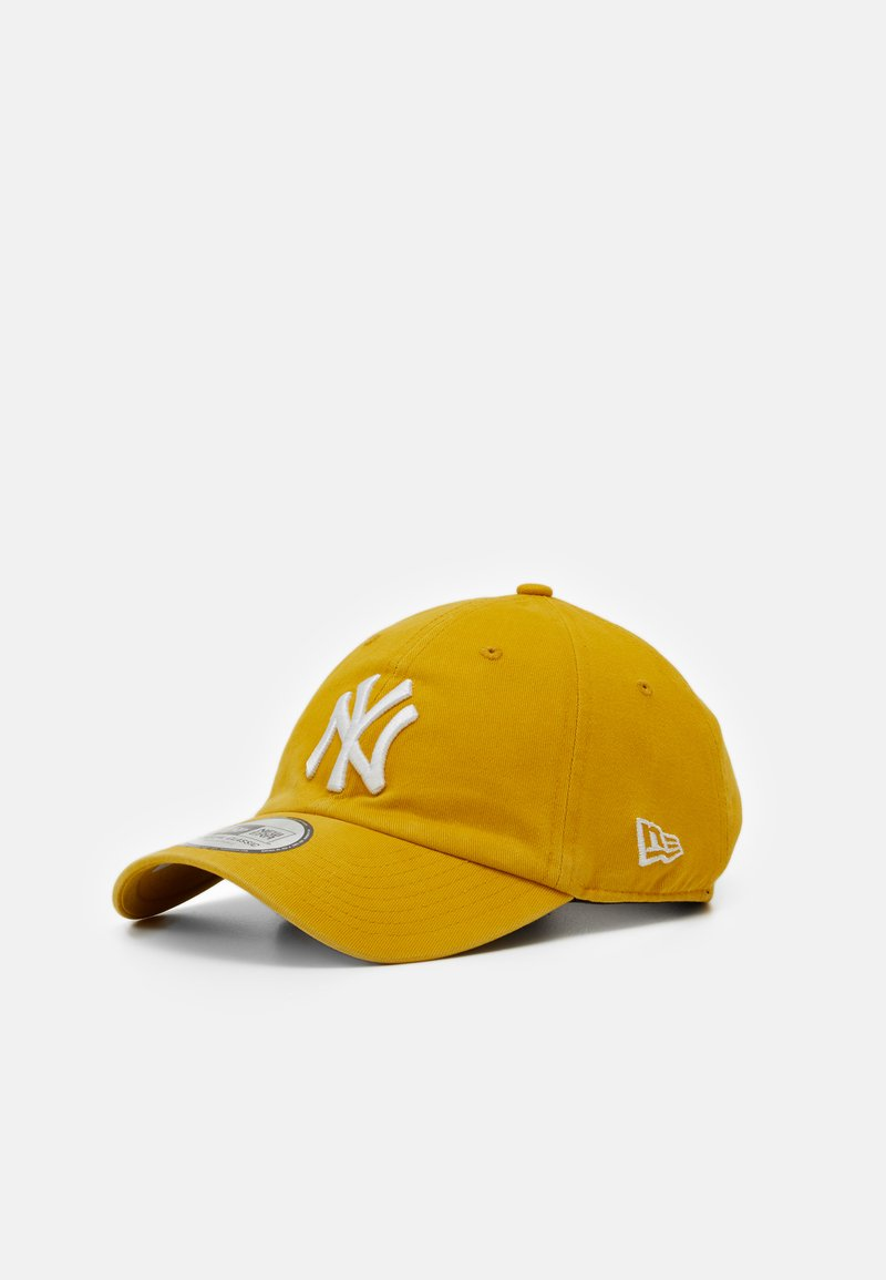 New Era - LEAGUE ESSENTIAL CASUAL CLASSIC - Keps - yellow/white