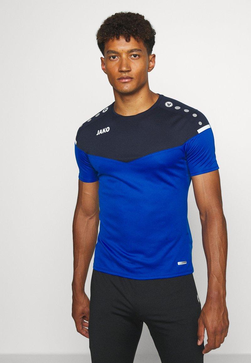 JAKO - CHAMP - Print T-shirt - royal/marine