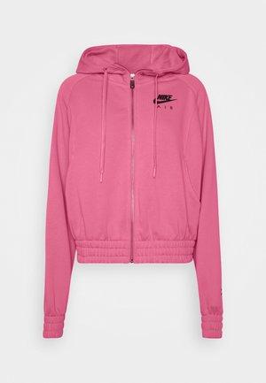 AIR HOODIE - Zip-up hoodie - pink