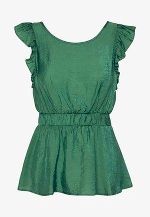 VIJOY RUFFLE  - Blouse - ultramarine green