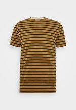 INDIA - T-shirt con stampa - olive/brown