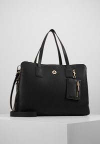 Tommy Hilfiger - CHARMING WORK BAG SET - Portfölj / Datorväska - black - 0