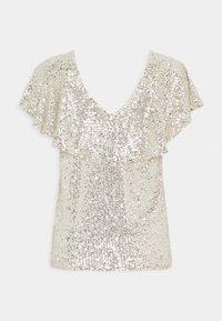 ICHI - IHJOLENE  - Print T-shirt - frosted almond - 1