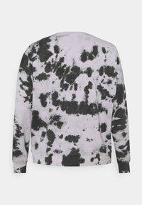 Missguided Plus - TIE DYE - Sweatshirt - lilac - 1