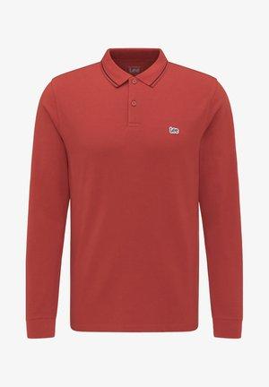 Poloshirts - red ochre
