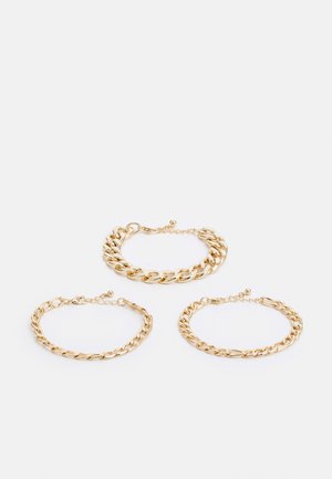 3 PACK - Armband - gold-coloured