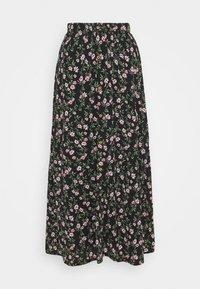 ONLY - ONLPELLA SKIRT - Maxi skirt - black - 0