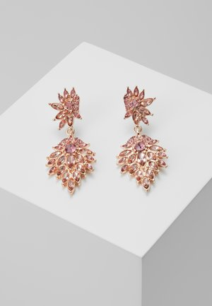 ONLCINDYLINDY EARRINGS - Oorbellen - gold-coloured/rose