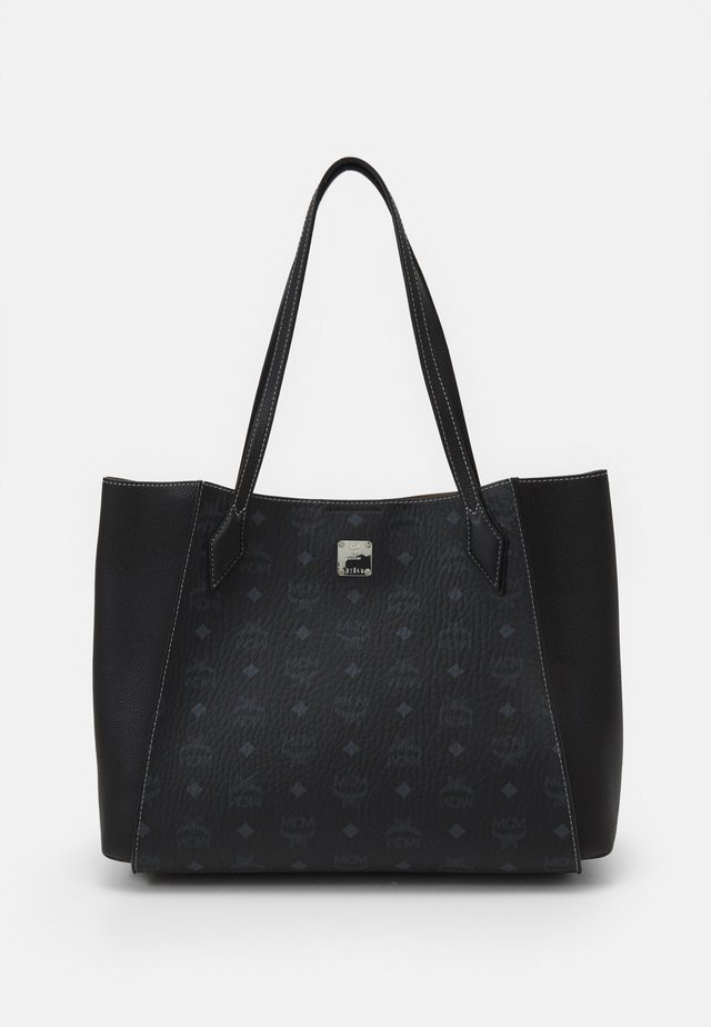 LUISA VISETOS BLOCK - Shopping bag - black