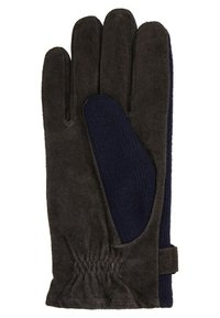 Bugatti - Gloves - navy/choco - 2