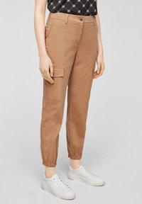 comma casual identity - Cargo trousers - caramel - 0