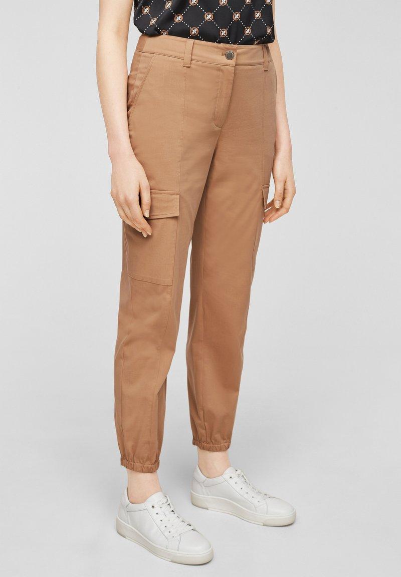 comma casual identity - Cargo trousers - caramel