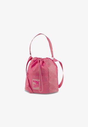 Across body bag - glowing pink