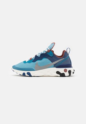 REACT 55 RETRO UNISEX - Sneakers - coastal blue/white/cerulean/green abyss/claystone red/sail