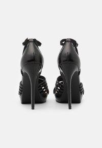 Even&Odd - Sandály na vysokém podpatku - black - 3