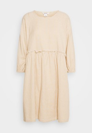 DRESS - Korte jurk - beige/medium dusty unique