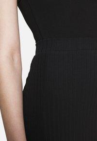 Even&Odd - 2 PACK - Mini skirt - black/khaki - 5