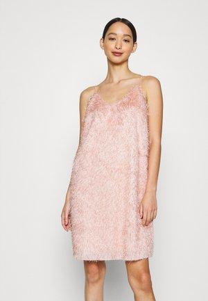 VMVIVI SINGLET SLIP DRESS  - Korte jurk - sepia rose
