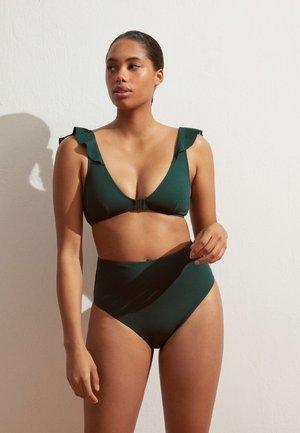 Bikini top - evergreen