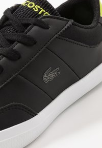 Lacoste - COURT-MASTER - Trainers - black/light green - 2